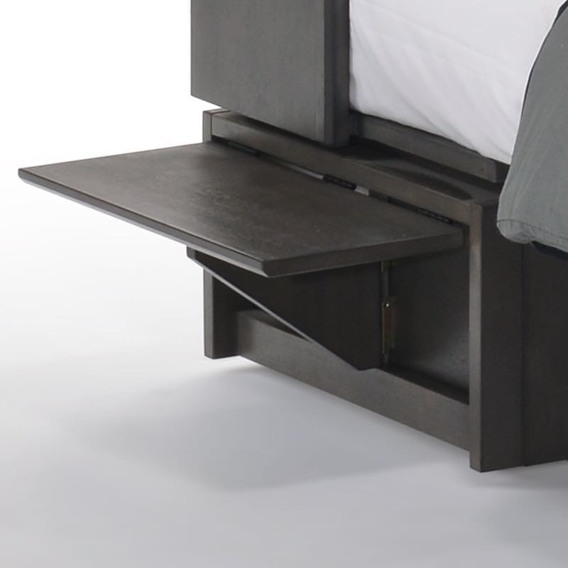Flip up nightstands