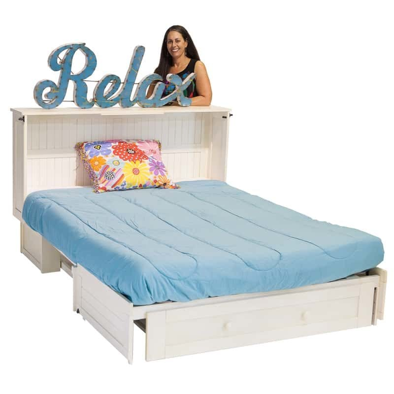 Daisy Cabinet Bed Finisih buttercream