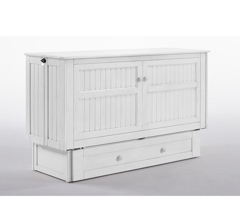 Daisy White Murphy Cabinet Bed