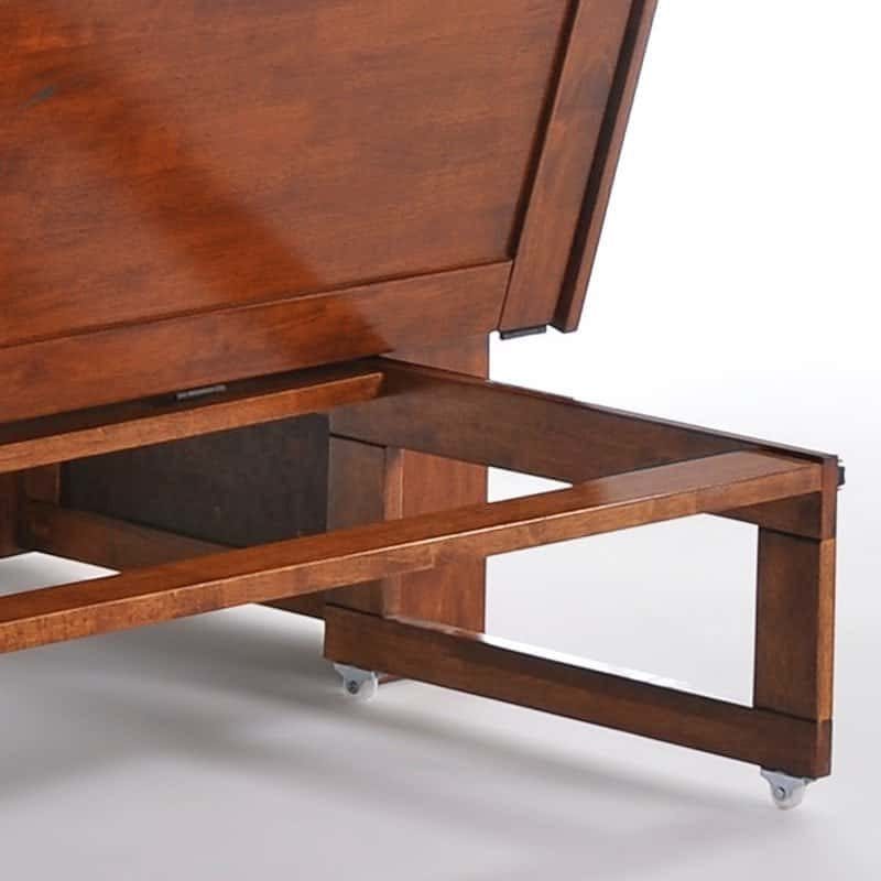 Clover Cabinet Bed in Rich Cherry