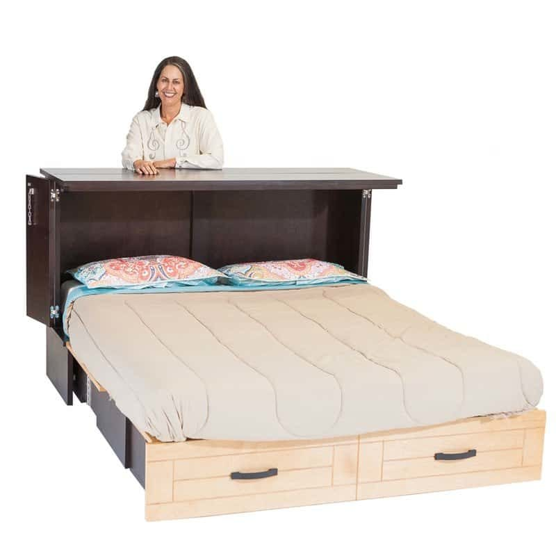 Owner Harriet Greenlee Metro Cabinet Bed