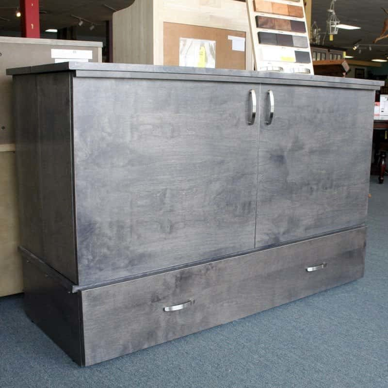 Sydney Cabinet Bed Grey Stain