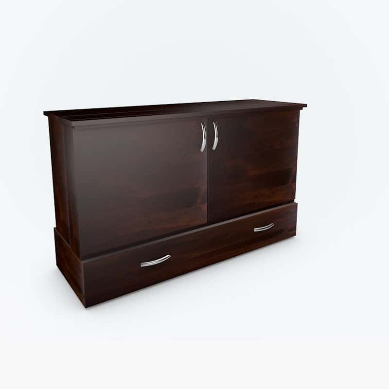 The Park Avenue Stanley Cabinet Bed espresso stain