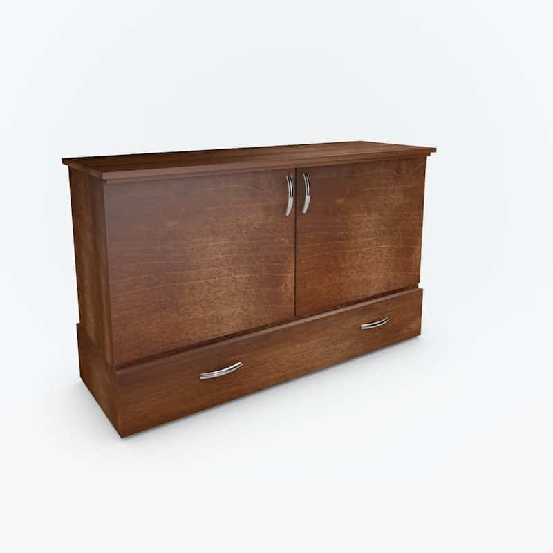 The Park Avenue Stanley Cabinet Bed roasted pine stain