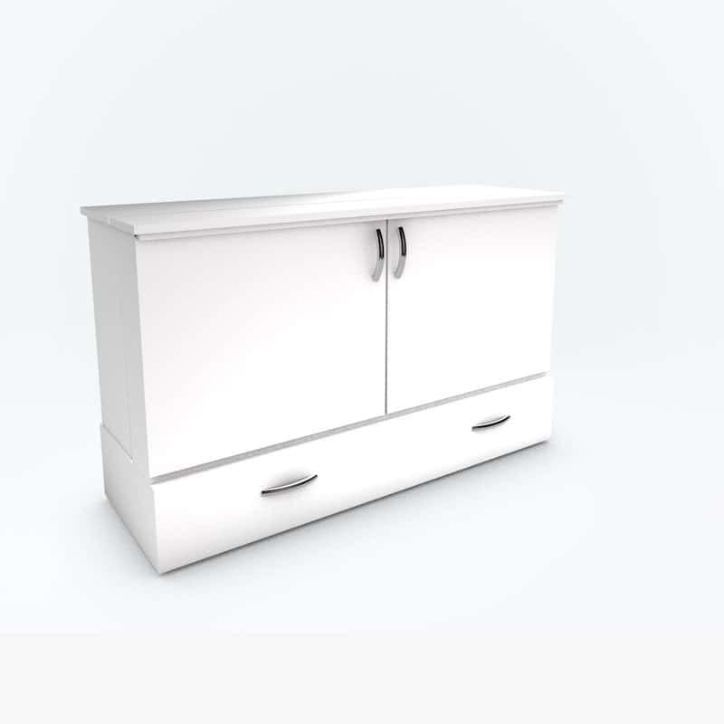 The Park Avenue Stanley Cabinet Bed white paint