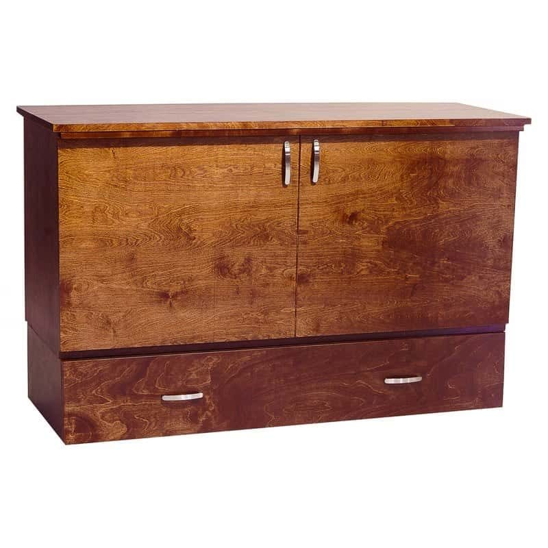 The Park Avenue Stanley Cabinet Bed cojoba stain.