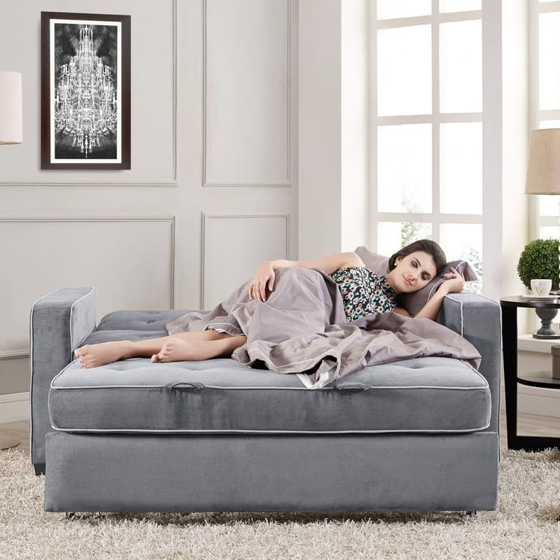 Serta Augustine Convertible Sofa Bed