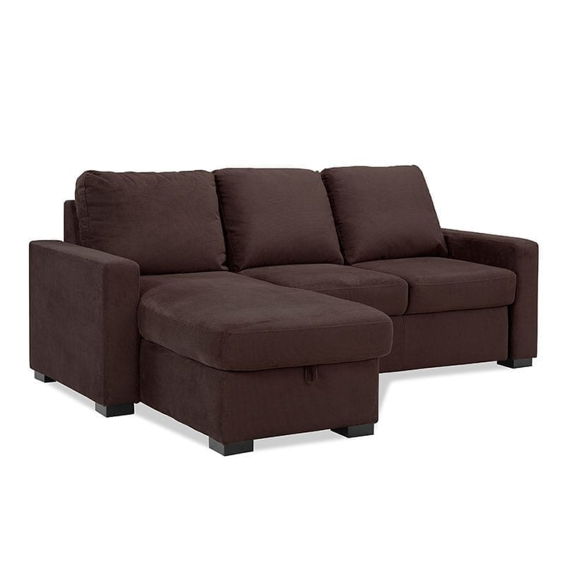 Serta chester queen size convertible sofa bed lounger for Sofa bed queen size