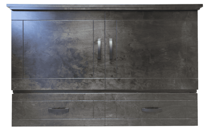 Aztec by Cabinet Bed Grey closed