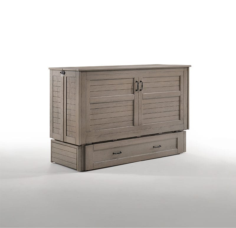 Poppy Murphy Cabinet Bed Driftwood